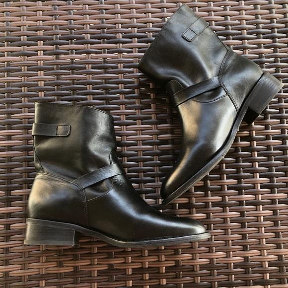 9f85bbaca29 New Ugg Fletcher black leather boot